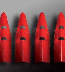 PinCab Protectors — Red